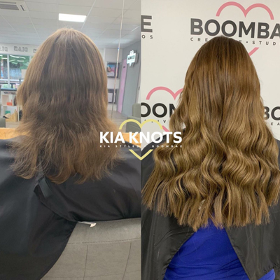 The Most Shocking Hair Extension Before and After Ever